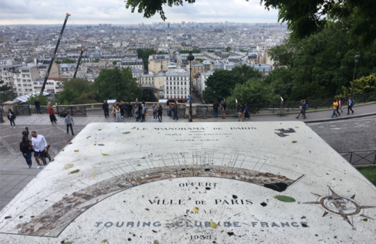 Walking from Montmartre to Montreuil